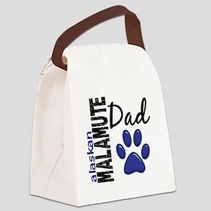 Alaskan Malamute Dad 2 Canvas Lunch Bag