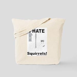 Squirrel Minefield Tote Bag