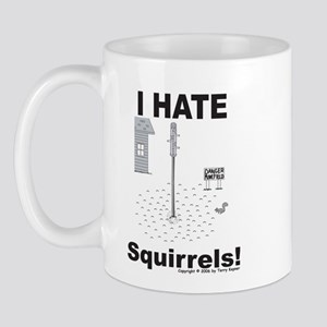 Squirrel Minefield Mug