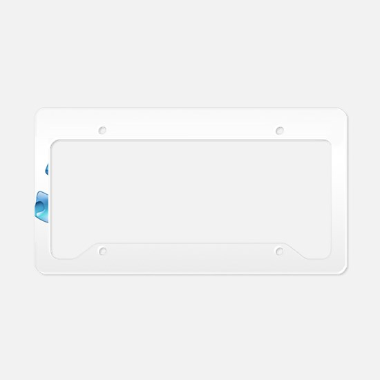 Cool Autism support License Plate Holder