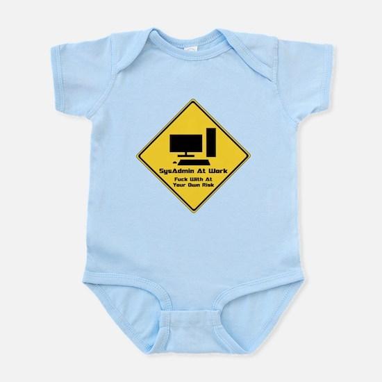 SysAdmin Zone Infant Bodysuit