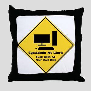 SysAdmin Zone Throw Pillow