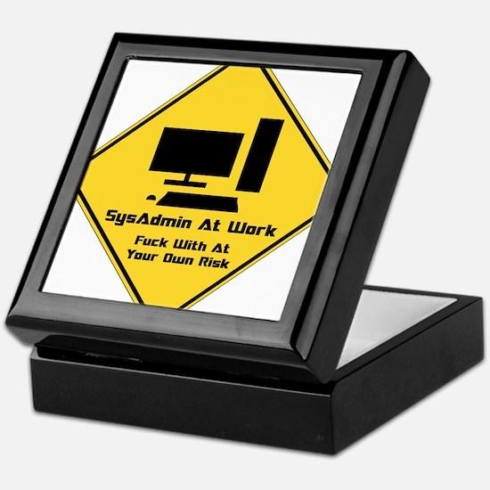 SysAdmin Zone Keepsake Box