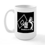 Kokopelli Basketball Player Large Mug