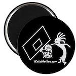 Kokopelli Basketball Player Magnet