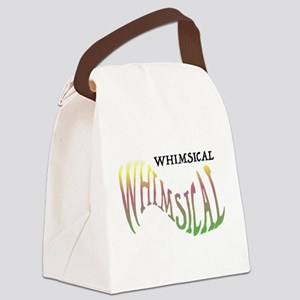 DescribeMeDesigns-Whimsical Canvas Lunch Bag
