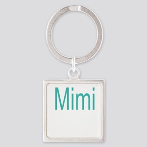 Mimi Block letters Square Keychain