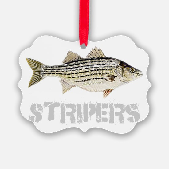 Fat Stripers Ornament