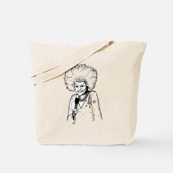 Phyllis Diller Illustration Tote Bag
