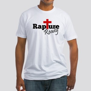Rapture Ready Fitted T-Shirt