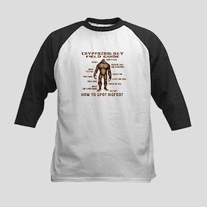 How to Spot Bigfoot - Field Guide Kids Baseball Je
