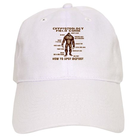 How to Spot Bigfoot - Field Guide Baseball Cap by LifeguardShack 3d4369b3624f