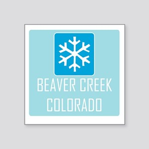 Beaver Creek Snowflake Sticker