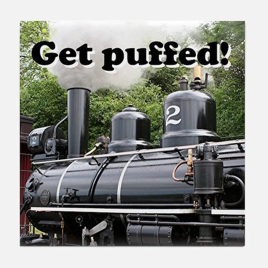 Get puffed! Steam engine, Wales, United Kingdom Ti