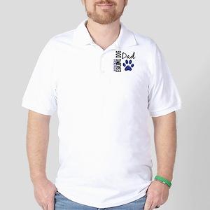 American Eskimo Dad 2 Golf Shirt