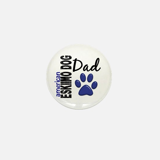 American Eskimo Dad 2 Mini Button