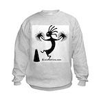 Kokopelli Cheerleader / Pep S Kids Sweatshirt