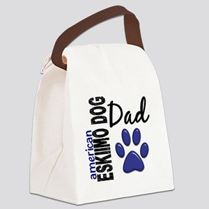 American Eskimo Dad 2 Canvas Lunch Bag