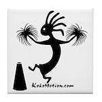 Kokopelli Cheerleader / Pep S Tile Coaster
