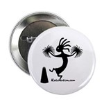 Kokopelli Cheerleader / Pep S Button