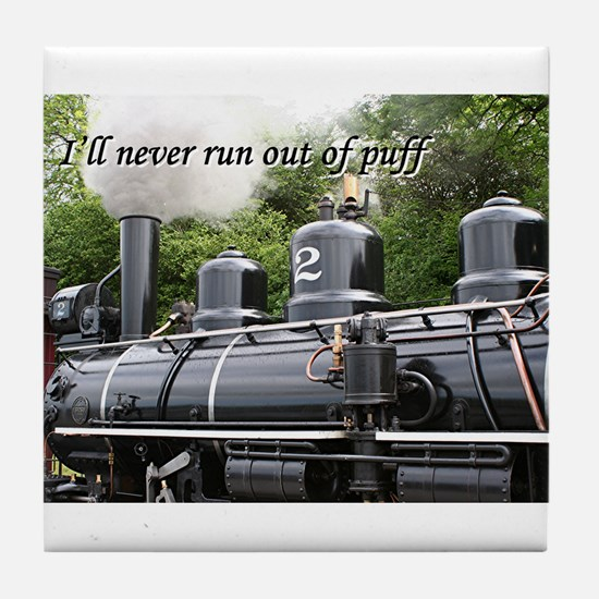 I'll never run out of puff: steam engine, Wales Ti
