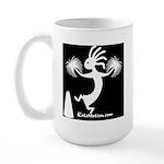 Kokopelli Cheerleader / Pep S Large Mug