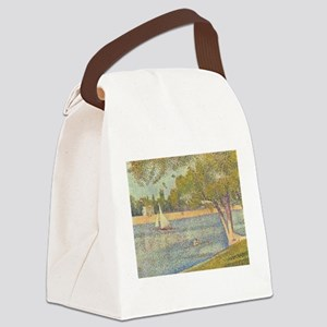 Seurat Grande Jatte Canvas Lunch Bag
