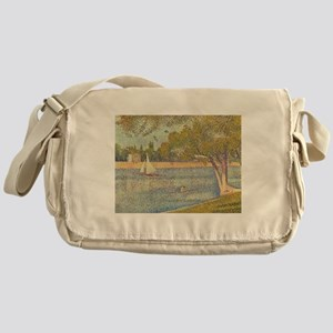 Seurat Grande Jatte Messenger Bag