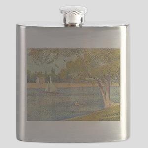 Seurat Grande Jatte Flask
