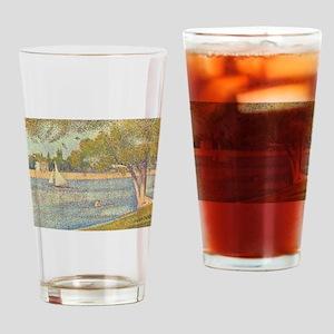 Seurat Grande Jatte Drinking Glass