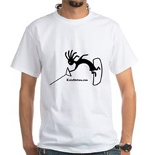 Kokopelli Wakeboarder White T-Shirt