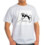 Kokopelli Wakeboarder Ash Grey T-Shirt