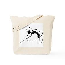 Kokopelli Wakeboarder Tote Bag