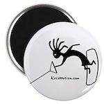 Kokopelli Wakeboarder Magnet