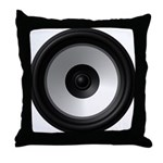 BASS (Speaker) Throw Pillow