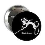 Kokopelli Wakeboarder Button