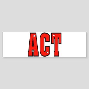 ACT Sticker (Bumper)