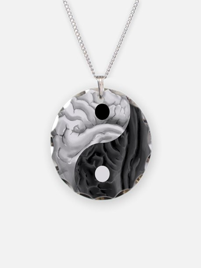 Yin Yang Brain Necklace