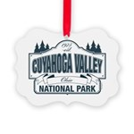 Cuyahoga Valley National Park Picture Ornament