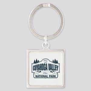 Cuyahoga Valley National Park Square Keychain