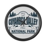 Cuyahoga Valley National Park Large Wall Clock