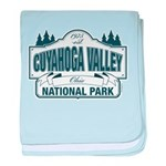 Cuyahoga Valley National Park baby blanket