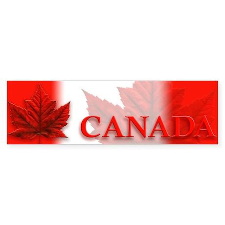Canada Flag Sticker Bumper Canada Souvenirs