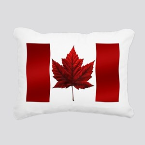 Canada Flag Rectangular Canvas Pillow