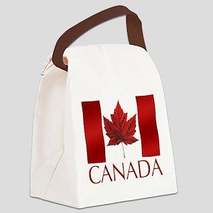 Canada Flag Canvas Lunch Bag Canada Souvenir