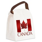 Canada Flag Canvas Lunch Bag Canada Souvenir