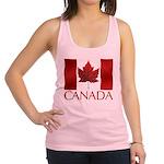 Canada Flag Tank Top Racerback Tank Top