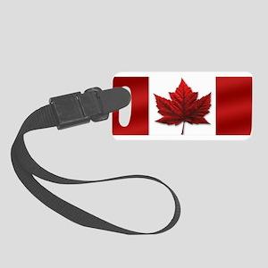 Canada Flag Small Luggage Tag