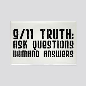 9/11 Truth Rectangle Magnet