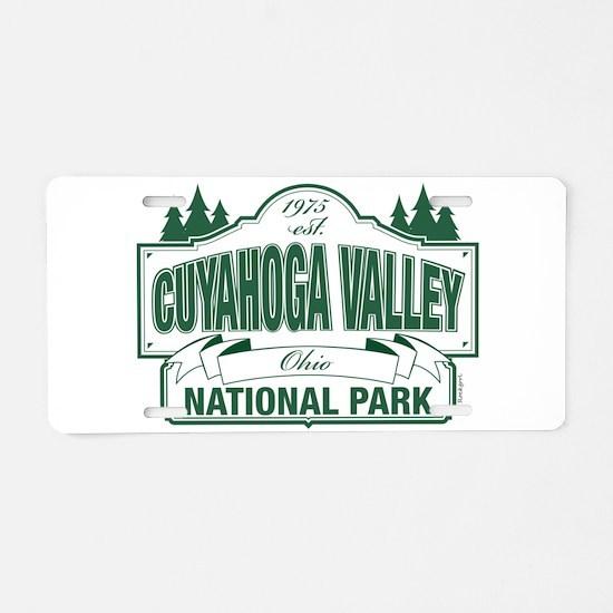 Cuyahoga Valley National Park Aluminum License Pla